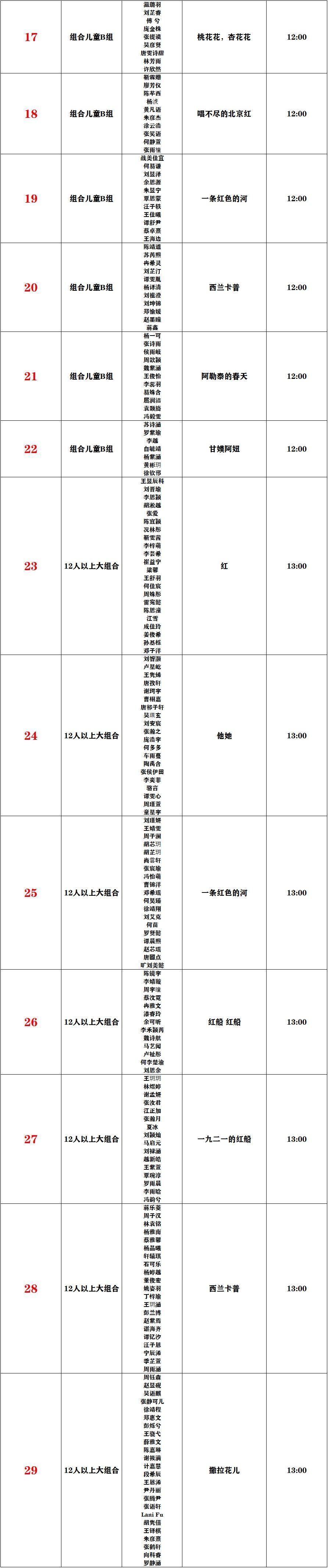 2021第17届快乐阳光全国少歌赛【重庆赛区】复赛比赛通知 第26张