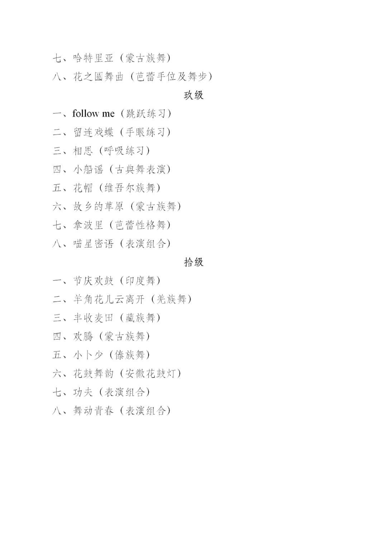 """中国舞蹈家协会""""中国舞蹈考级""""2021年重庆考区考级工作实施细则 第11张"""