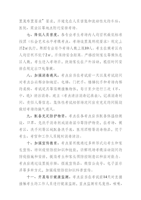 """中国舞蹈家协会""""中国舞蹈考级""""2021年重庆考区考级工作实施细则 第23张"""